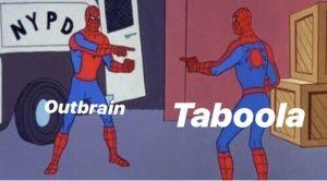 taboola outbrain merger oarex
