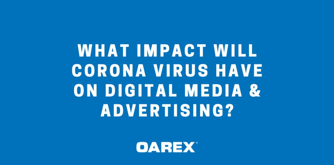 coronavirus impact digital media
